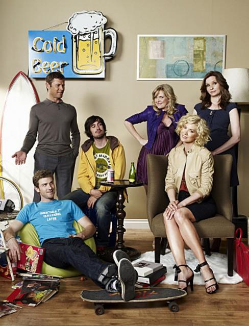 Una foto promozionale del cast di Accidentally on Purpose