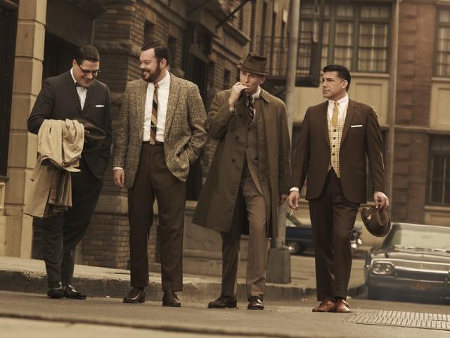 Una foto promozionale della stagione 3 di Mad Men