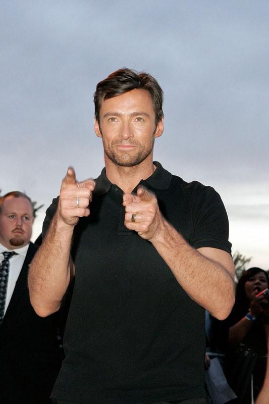 Hugh Jackman alla premiere del film X-Men - Le origini: Wolverine, in Arizona, il 27 aprile 2009
