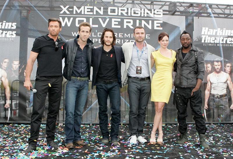 Il cast principale, alla premiere del film X-Men - Le origini: Wolverine, in Arizona, il 27 aprile 2009