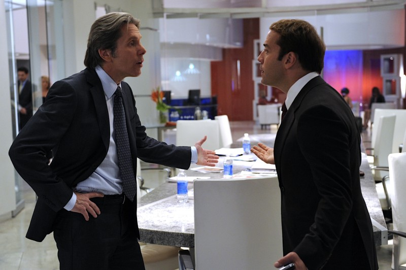 Jeremy Piven e Gary Cole nell'episodio 'Running on E' per la sesta stagione di Entourage