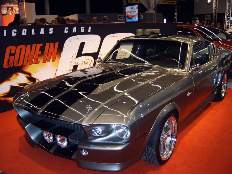 La Eleanor Shelby GT500 protagonista del film 'Gone in 60 Seconds'