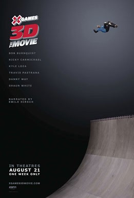 La locandina di X Games 3D: The Movie