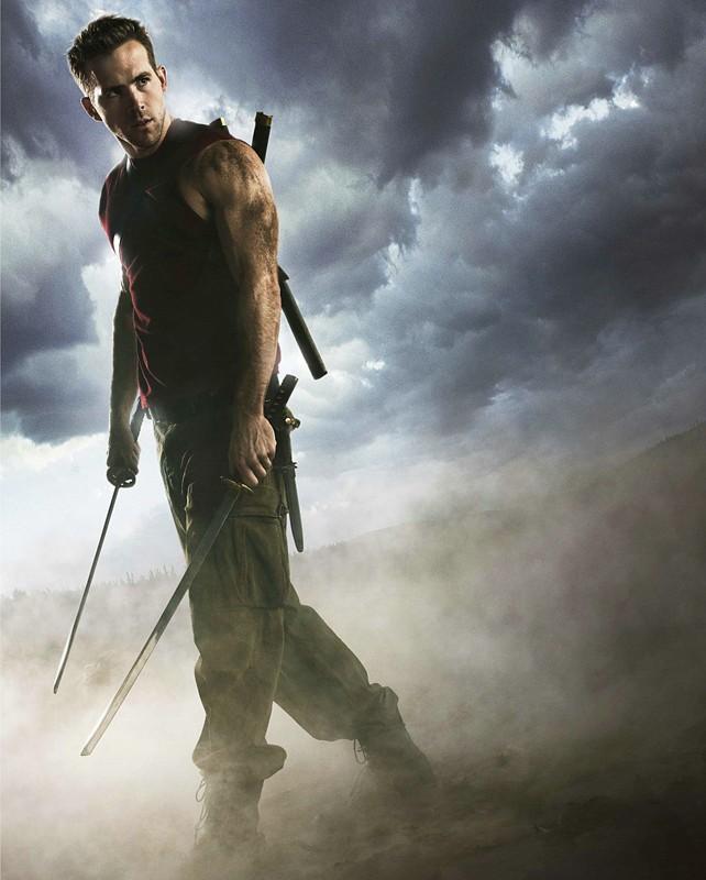 Ryan Reynolds in un'immagine promozionale per il film 'X-Men - Le origini: Wolverine'