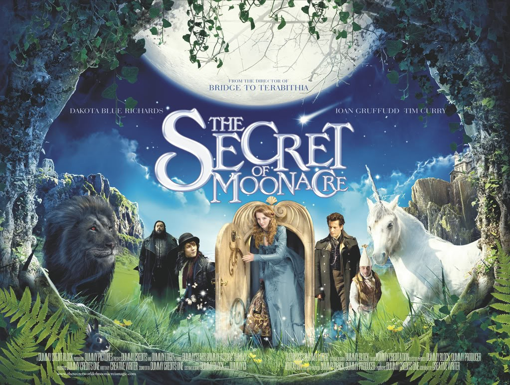 Un wallpaper ufficiale del film 'The Secret of Moonacre'