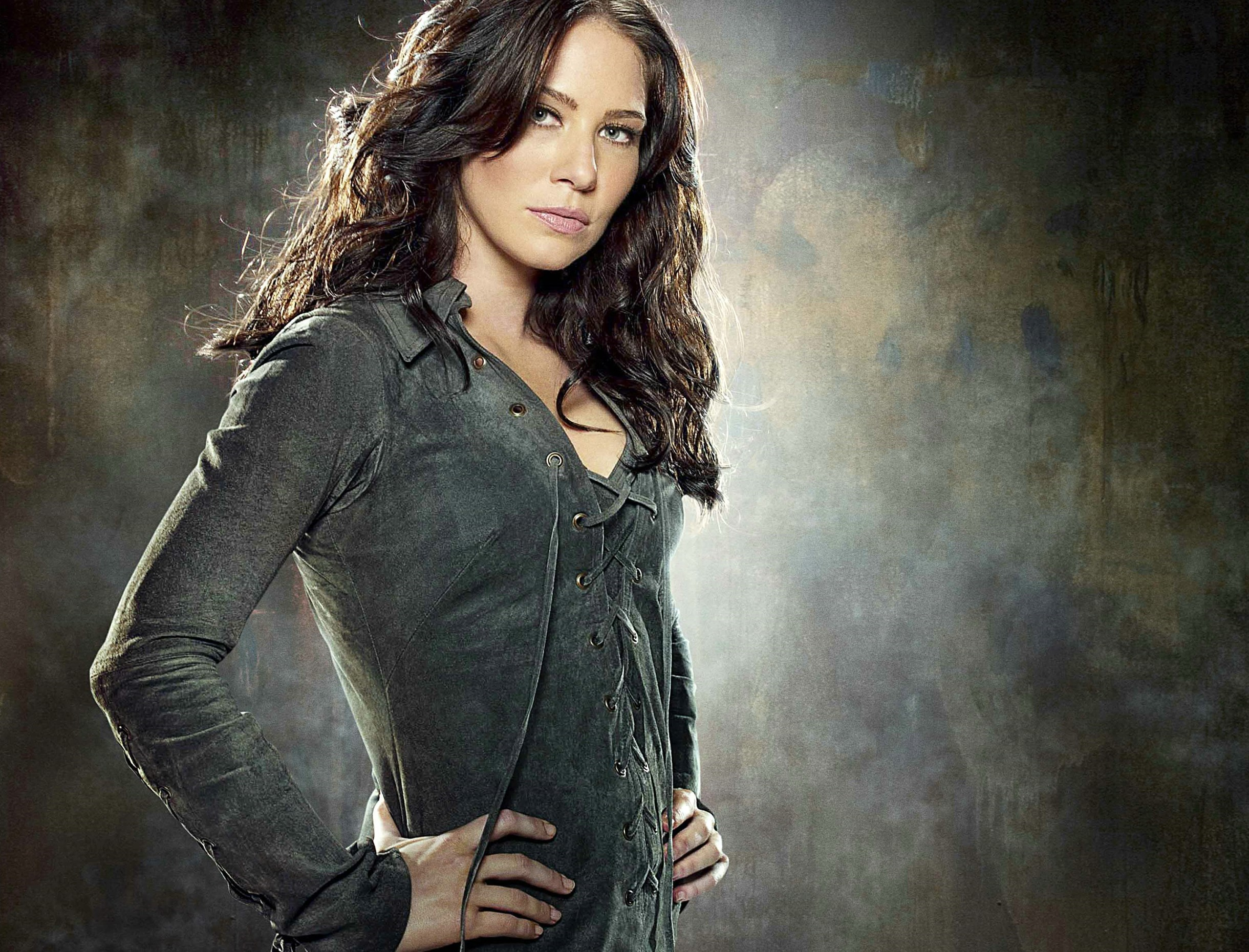 Wallpaper di Lynn Collins che interpreta Silver Fox nel film X-Men - Le origini: Wolverine