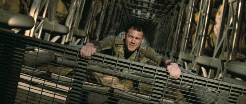 Channing Tatum in un'immagine del film G.I.Joe: La nascita dei Cobra