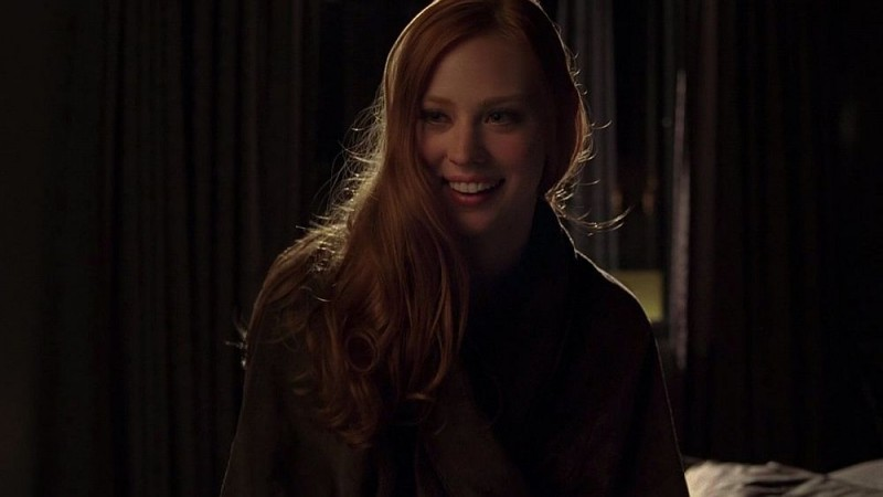 La splendida Deborah Ann Woll in una scena dell'episodio 'Release Me' della serie tv True Blood