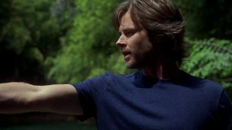 Sam Trammell in un'immagine dell'episodio 'Release Me' della serie tv True Blood