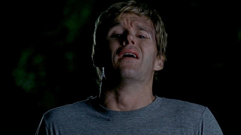 Un primo piano di Ryan Kwanten in una scena dell'episodio 'Release Me' della serie tv True Blood