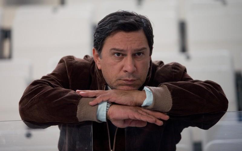 Michele Di Mauro in una scena del film La doppia ora (2009)