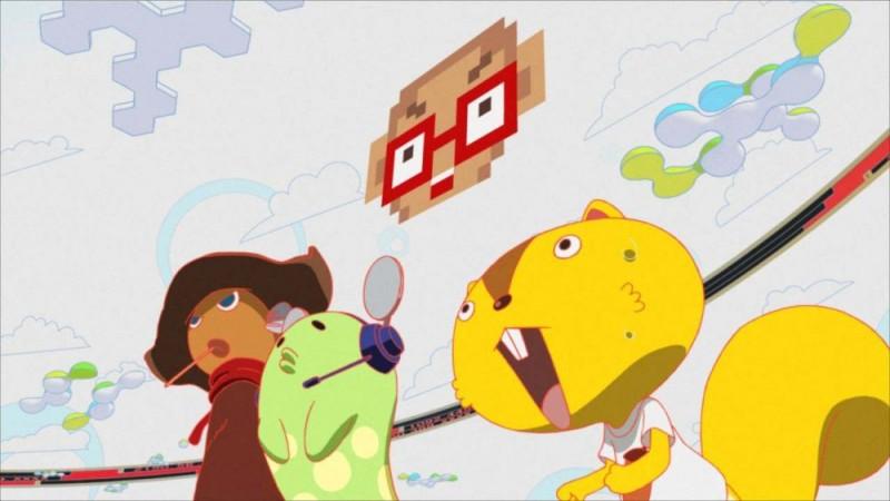 Una scena del film d'animazione Summer Wars