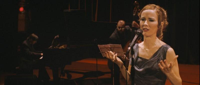 Una scena del film La cantante de tango