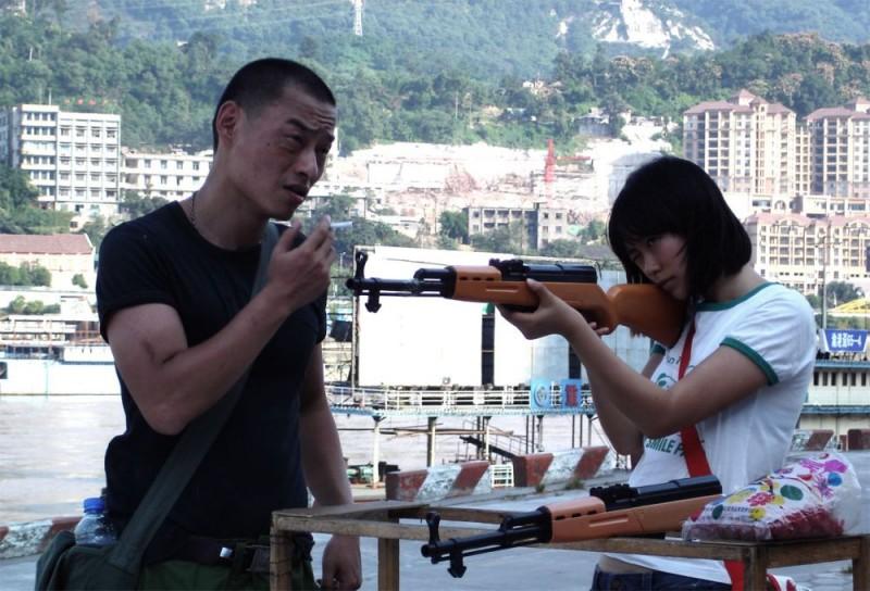 Una scena del film She, a Chinese