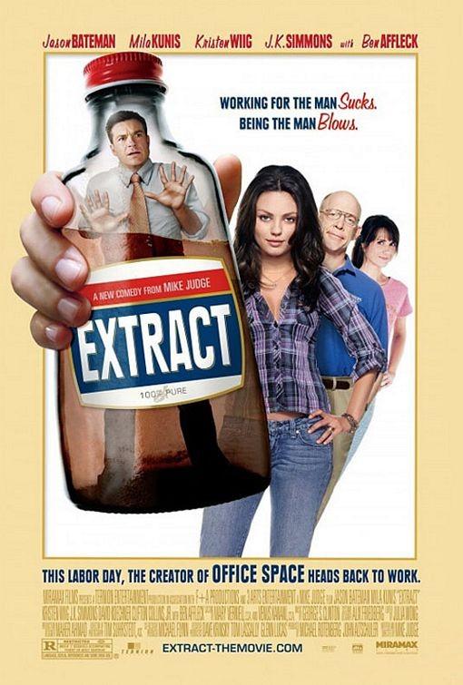 Nuova locandina per il film Extract
