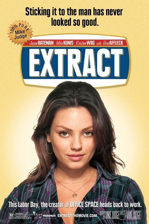 Una locandina del film Extract