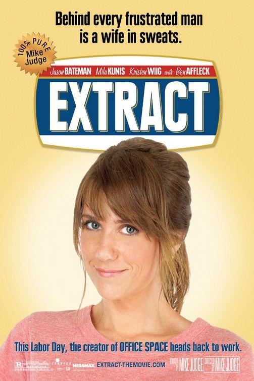Una nuova locandina del film Extract