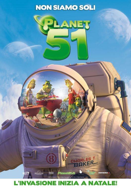 Una nuova locandina italiana per Planet 51