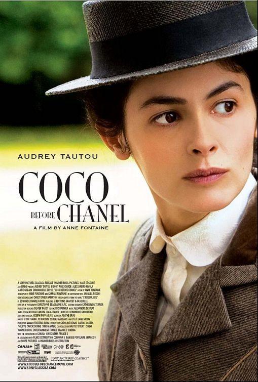 La locandina inglese di Coco avant Chanel