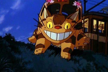 Un'immagine del film d'animazione Il mio vicino Totoro diretto da Hayao Miyazaki