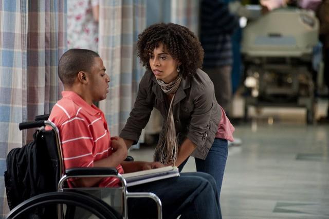 Hannah Hodson in una scena dell'episodio Trust Me di Hawthorne
