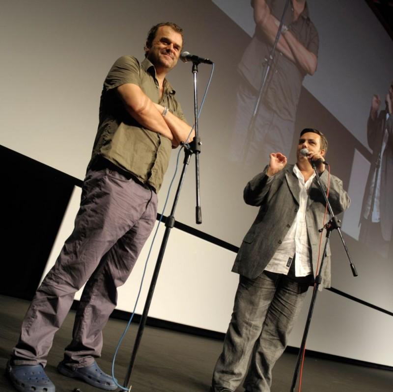 Il regista e attore Pippo Delbono al Festival di Locarno 2009