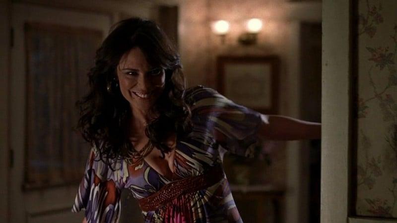 Michelle Forbes in un'immagine dell'episodio 'Timebomb' della serie True Blood
