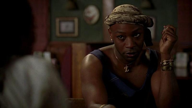 Nelsan Ellis in una scena dell'episodio 'Timebomb' della serie True Blood