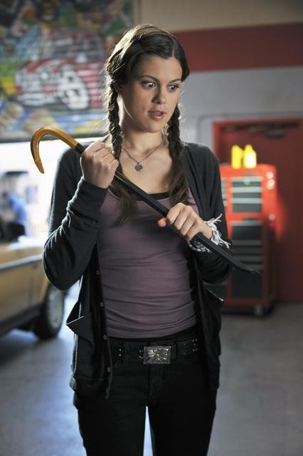 Lindsey Shaw in un momento dell'episodio Don't Give Up di 10 Things I Hate About You
