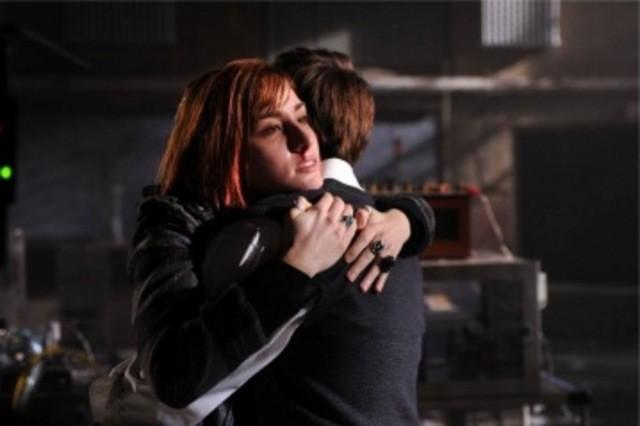 Sarah Allen in una scena dell'episodio Claudia di Warehouse 13