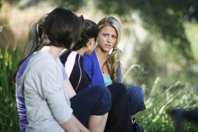 Una scena dell'episodio Where's Kaylie? di Make It Or Break It