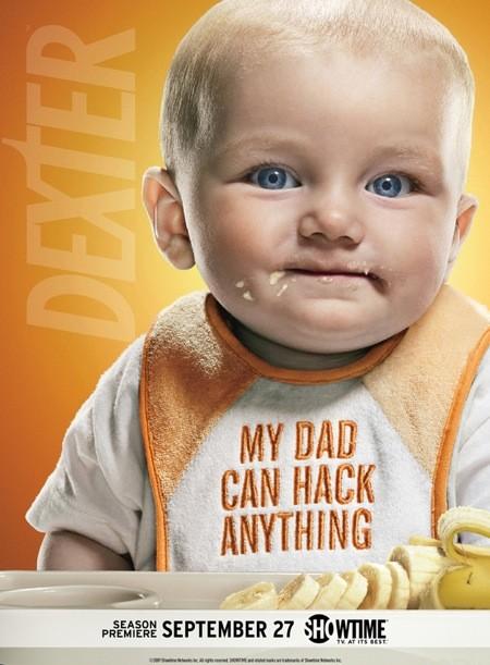 Nuovo poster promozionale della stagione 4 di Dexter, versione #4
