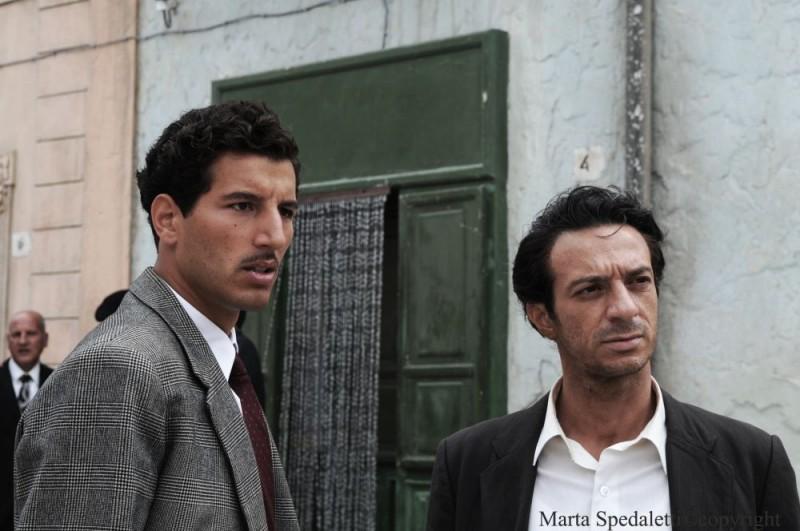 Francesco Scianna in una scena del film Baaria