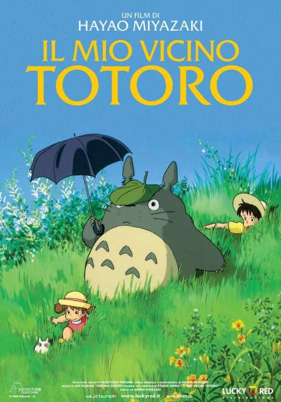 La locandina italiana de Il mio vicino Totoro