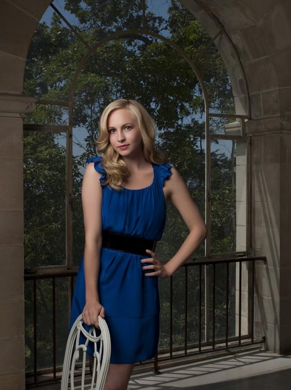 Candice Accola in una foto promozionale di The Vampire Diaries