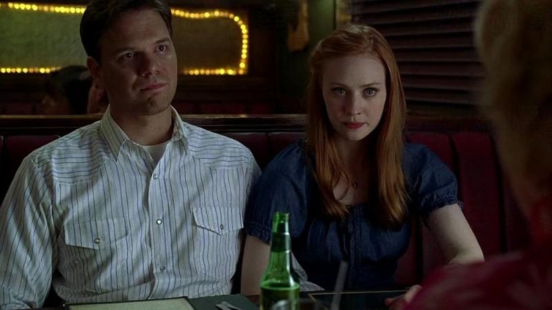 Hoyt (Jim Parrack) e Jessica (Deborah Ann Woll) in una scena dell'episodio 'I Will Rise Up' della serie tv True Blood