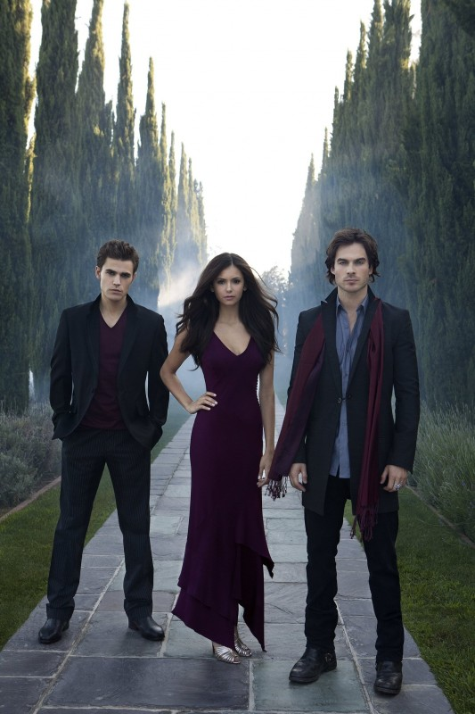 I tre protagonisti della nuova serie CW The Vampire Diaries