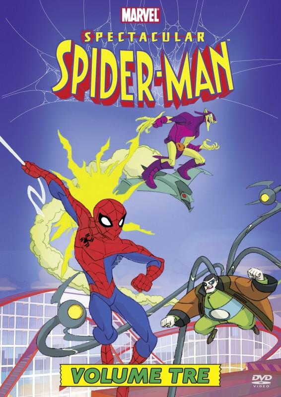 La copertina di Spectacular Spider-Man - Vol. 3 (dvd)