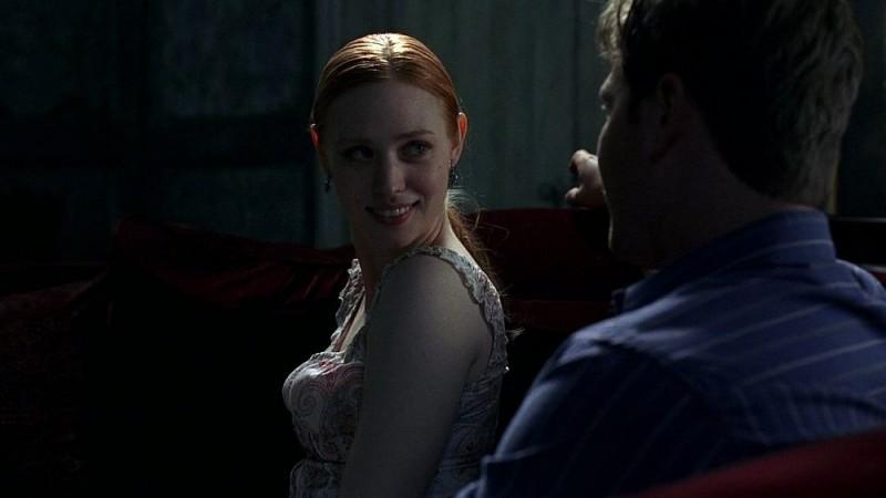 La vampira Jessica (Deborah Ann Woll) in una scena dell'episodio 'I Will Rise Up' della serie tv True Blood