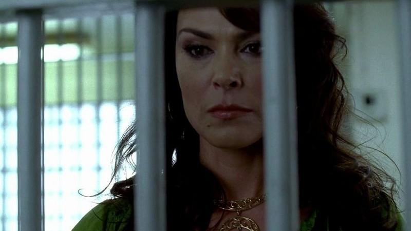 Maryann (Michelle Forbes) in una scena dell'episodio 'I Will Rise Up' della serie tv True Blood