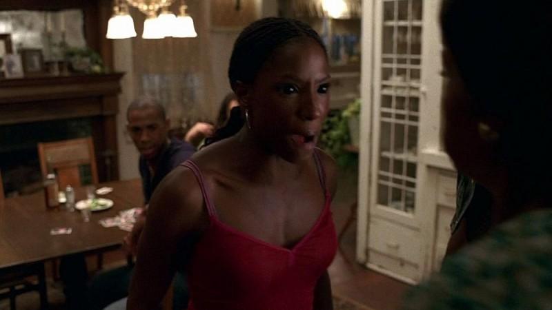 Rutina Wesley in una scena dell'episodio 'I Will Rise Up' della serie tv True Blood