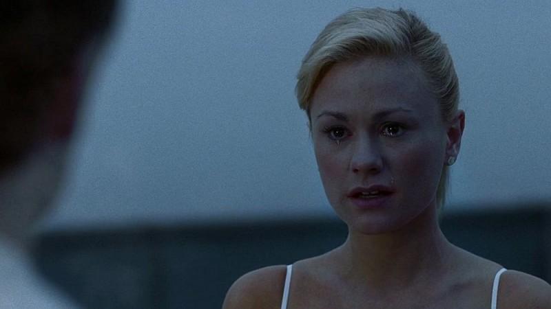 Sookie (Anna Paquin) piange per Godric in una scena dell'episodio 'I Will Rise Up' della serie tv True Blood