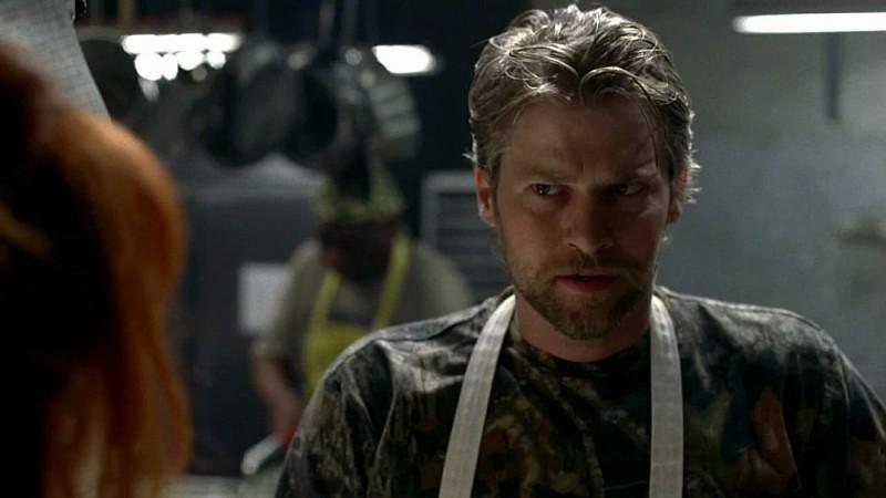 Terry Bellefleur (Todd Lowe) in una scena dell'episodio 'I Will Rise Up' della serie tv True Blood