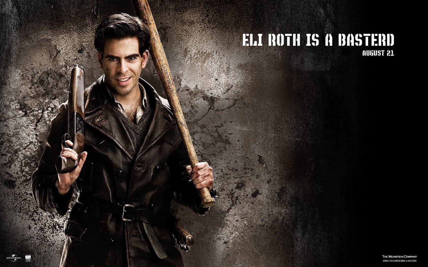 Un wallpaper del film Bastardi senza gloria con Eli Roth: 127324 -  Movieplayer.it