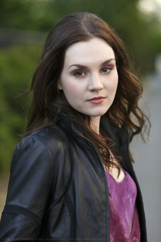Rachel Miner in una scena dell'episodio Sympathy for the Devil, premiere della stagione 5 di Supernatural