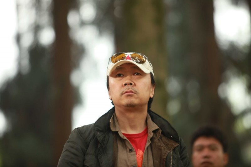 Il regista Cui Jian