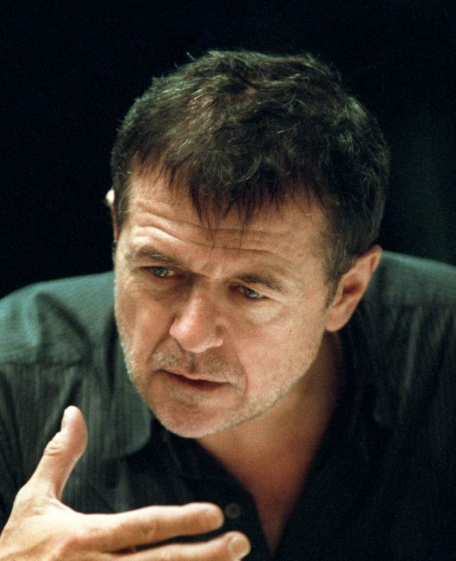 Il regista Patrice Chéreau