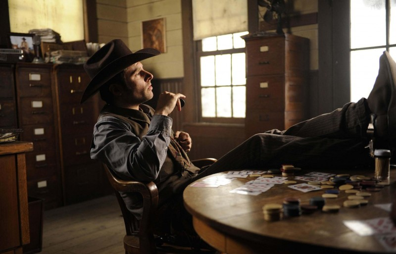 James Roday in una scena dell'episodio High Noon-ish di Psych