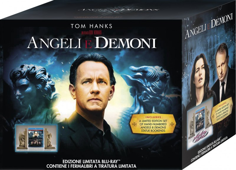 La copertina di Angeli e Demoni - Edizione limitata e numerata (blu-ray)