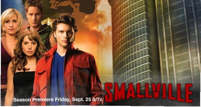 Poster promozionale orizzontale della stagione 9 di Smallville